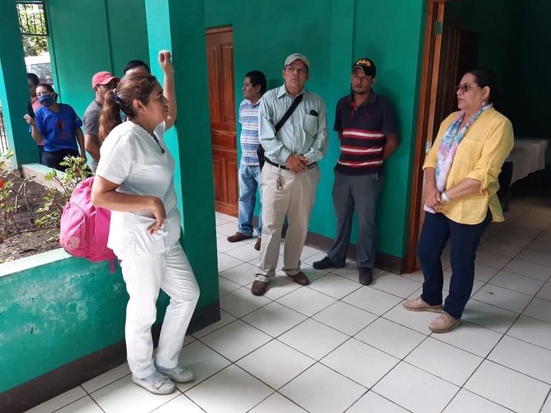 Visitó también la Casa de Atención a Personas con Necesidades Especiales en Salud, lugar de instrucción práctica permanente sobre el manejo de enfermedades crónicas y para ejercicios de fisioterapias.