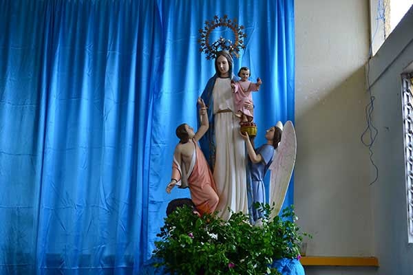 Virgenn de La Luz, patrona del municipio