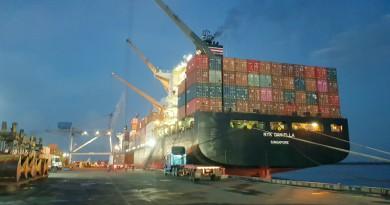 Portuaria de Corinto ruta de las exportaciones