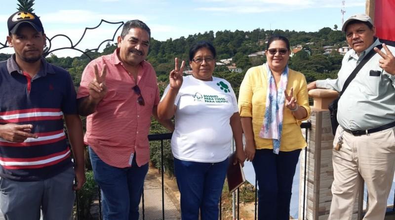 Con olor a pinos en  San José de Cusmapa sesión de trabajo de titular del Inifom con equipo municipal