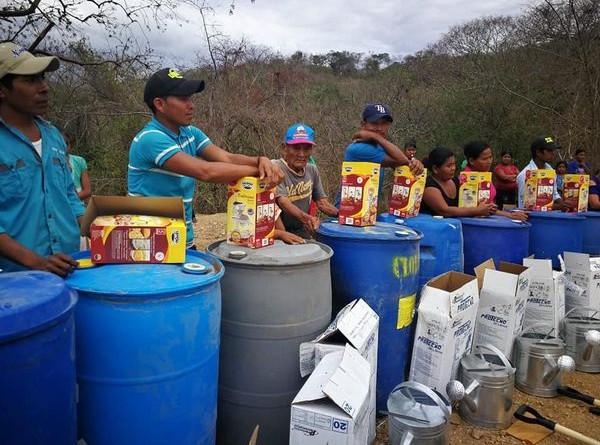 En las comunidades La Ceiba y Las Cruces de Mozonte entrega de equipo e insumos para la actividad gamadera