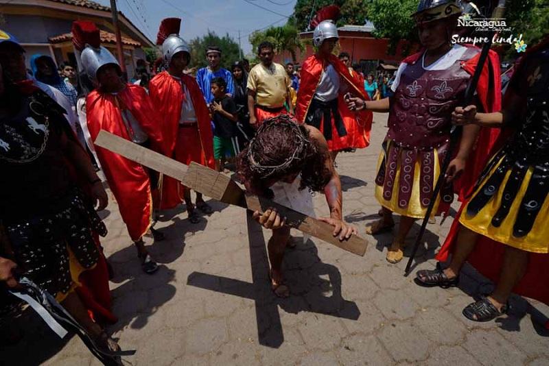 En Semana Santa Totogalpa conmemora La judea, muy afamada en el país, cuyo teatro callejero también se desplaza a otros departamentos.