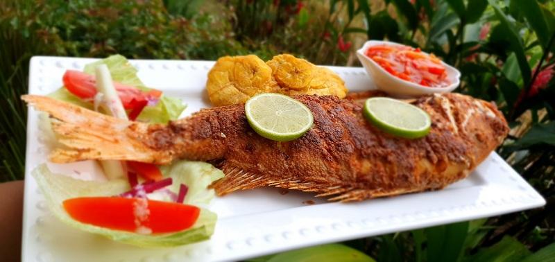 El pescado frito