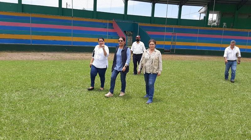 Estadio de béisbol Augusto C. Sandino:Esta infraestructura con capacidad para dos mil personas sentadas, es la más amplia y moderna de la región. Con techos, baños y casetas. Aquí se desarrollan partidos de ligas locales y debéisbol superior Germán Pomares Ordoñez.
