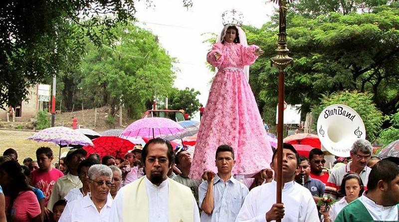 María Reina es la patrona de Palacagüina, advocación mariana de mucha devoción; su festividad principal es el 22 de agosto.(Foto archivo)
