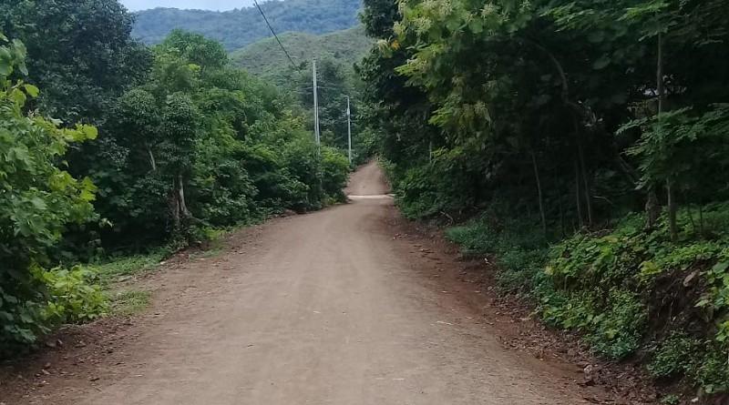 En San José de Cusmapa la reparación que hizo el gobierno local fue en dos kilómetros de camino en el tramo La Jabonera –Las Mesas.