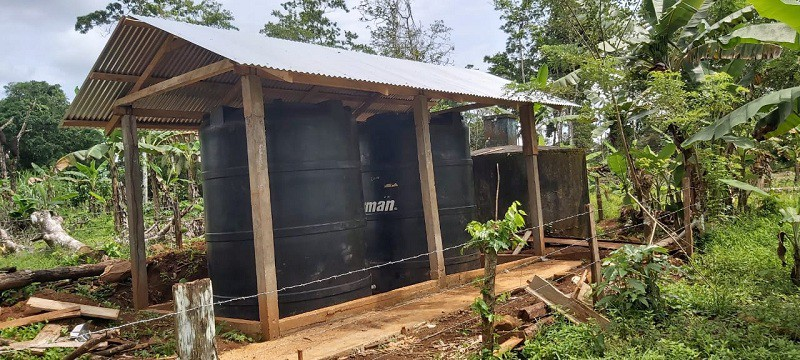 En Nueva Guinea se mejoró el sistema de agua potable.