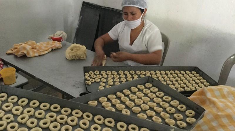 Dando forma a las rosquillas