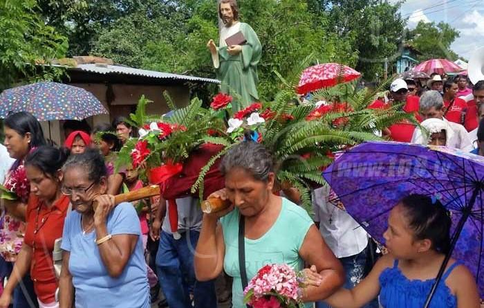 Procesión de San Lucas (Foto archivo)