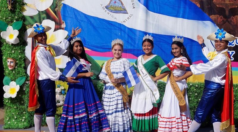 Las reinas de las Fiestas Patrias representan también un Orgullo Patrio, en Juigalpa.