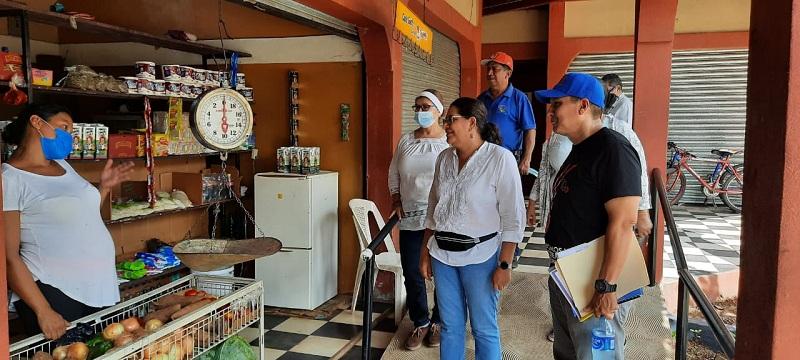 El Mercado municipal, contiguo a la barrera municipal, ubicado a la salida a de Ocotal, cuenta con variedad de servicios para la población y turistas en general.