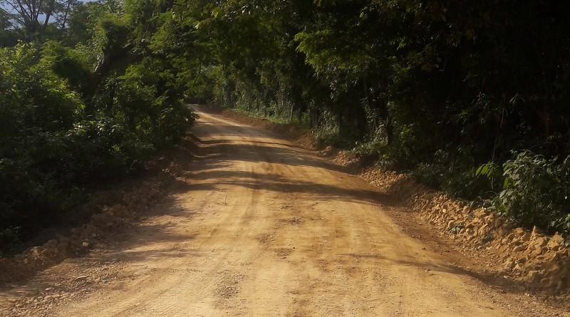 Cinco Pinos: Ocho  kilómetro en la comunidad El Jícaro.
