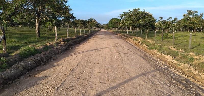 Kukra Hill: Quince kilómetros en la comunidad Neysi Ríos.