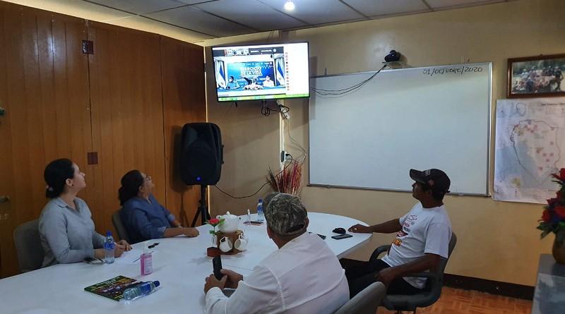 La presidenta del Inifom, vivió las experiencias del III ejercicio de protección de la vida yobservó buena articulación, comunicación, organización y funcionamiento del COMUPRE y el equipo municipal