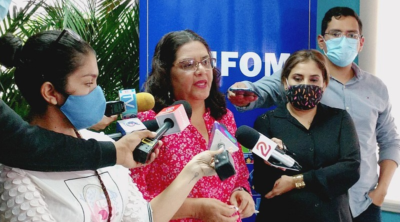 Presidenta ejecutiva del Inifom, Guiomar Irías