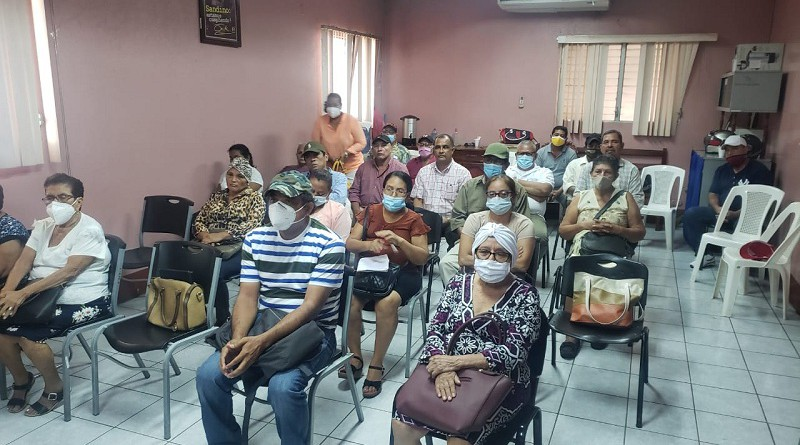 Concejales del FSLN en Chinandega