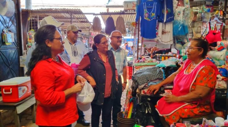 Presidenta del inifom en  Chichigalpa