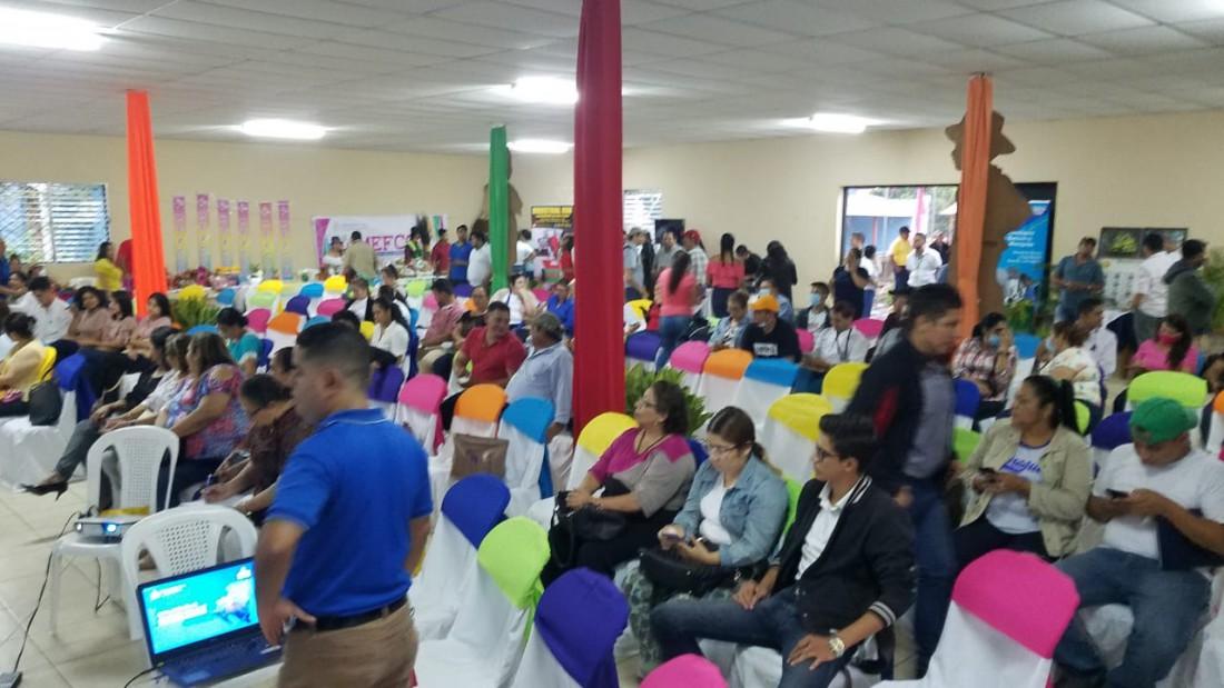 Instalación de las comisiones locales de economía creativa en Matagalpa