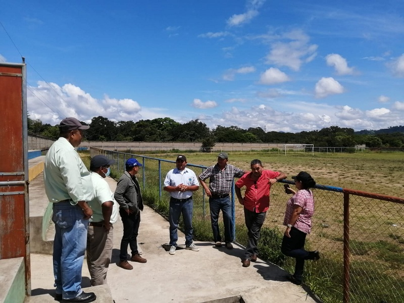 Campo de fútbol ubicado en la comunidad de Susucayán