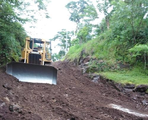 Río Blanco: Quince kilómetros en la comunidad San Ignacio.