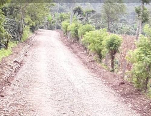 Jinotega: Seis kilómetros en la comunidad Santa Lucía.