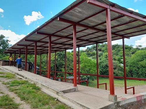 Cancha deportiva en Condega