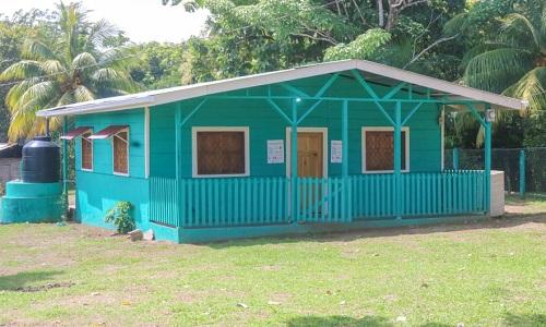 En Siuna: mejoramiento del puesto de salud en la comunidad Unión Labu.