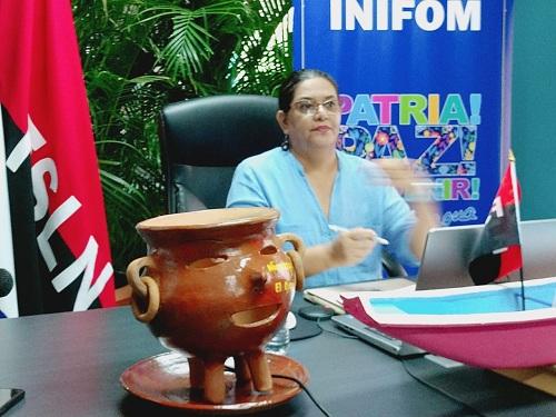 Guiomar Irías, presidenta ejecutiva del Inifom