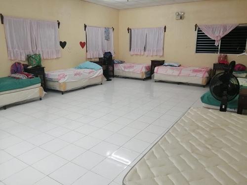 El  dormitorio de la casa materna