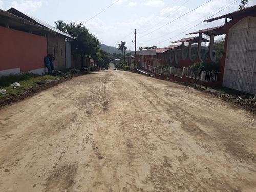 El gobierno local de Muy –Muy restauró cinco calles en barrios San Francisco, La Virgen, 19 de Julio, Ubén Rodríguez y San Benito.