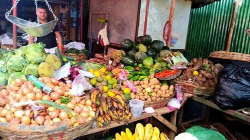 Mercado local (foto archivo)