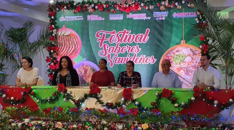 En vísperas de la Navidad, Nicaragua entera sacará toda su tradición gastronómica tradicional decembrina con El Festival Nacional  Sabores Navideños.