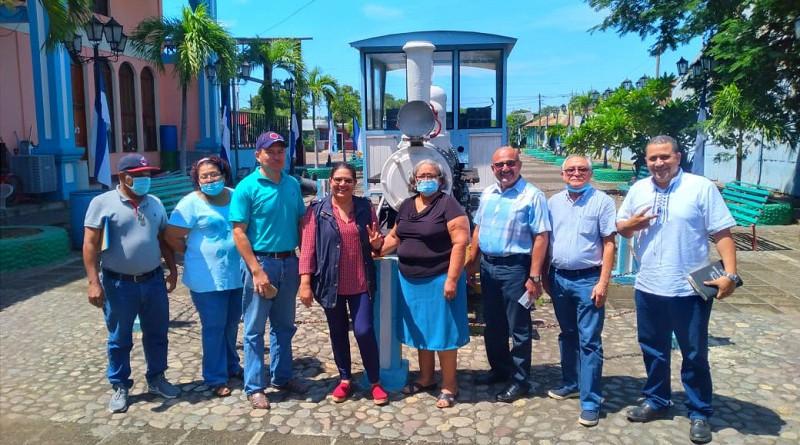 Parque Central José Santos Zelaya