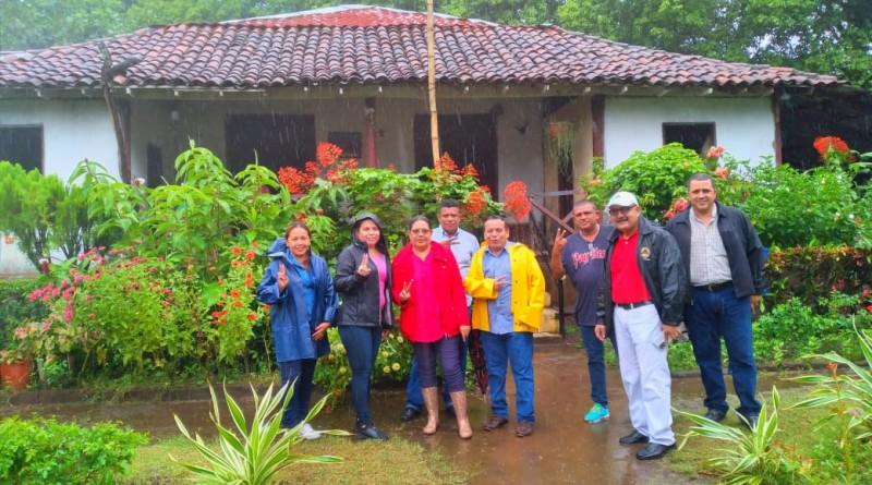 Presidenta ejecutiva del Inifom en  el histórico municipio  El Realejo