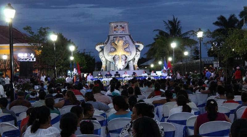 Inauguran La Calzada una obra monumental en sitio histórico de Rivas
