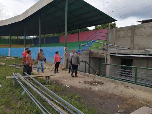 Estadio Viejas Glorias del Béisbol  Luis Alberto Ortez