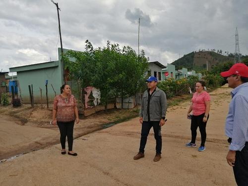 Barrio Tomás Borge donde se construyen 72 viviendas de interés social