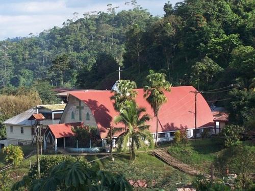 Iglesia Santa Teresita  del Niño Jesús en Bonanza patrimonio histórico