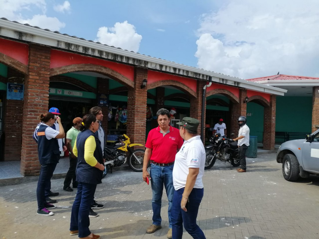 Mercado Municipal Gerald Mejía: Se contempla la ampliación de este centro con más módulos.