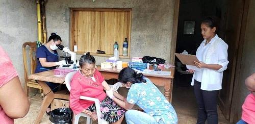 La estrategia Mi hospital en Mi Comunidad  acerca las especialidades médicas a las familias (la foto corresponde a una zona rural de Chontales)