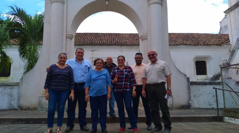 Presidenta del Inifom en El Viejo, Ciudad Santuario de la Virgen del Trono, Patrona de Nicaragua