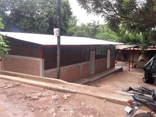 Construcción de dos talleres para elaboración de rosquillas, en Yalagüina