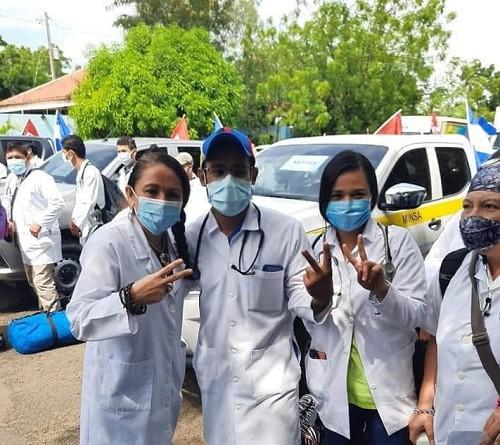 Brigadas médicas de León salieron anteayer hacia El Caribe Norten