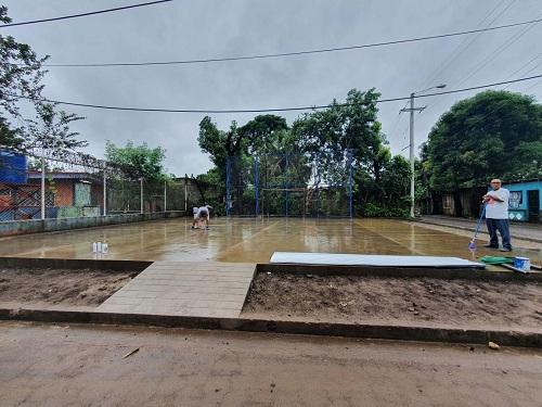 Cancha en Chichigalpa