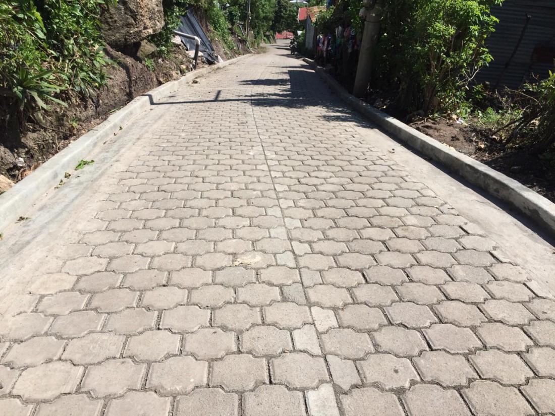 Calle nueva en el barrio Francisco Moreno #2 en Matagalpa