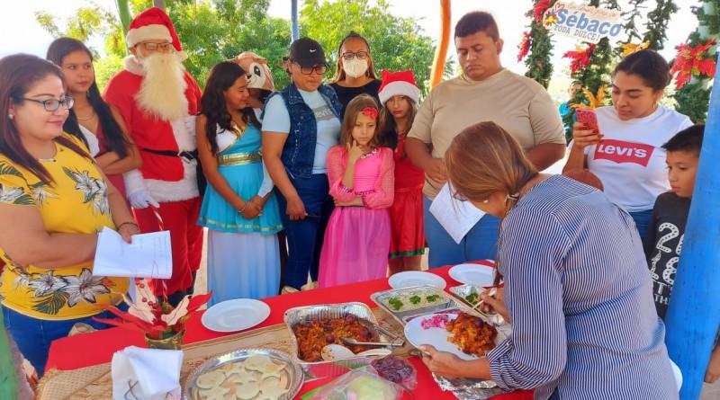 Festival municipal de sabores de diciembre en Sébaco