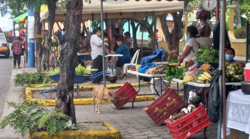 El festival de sabores en Palacaguina se combinó  con la oferta de productos varios