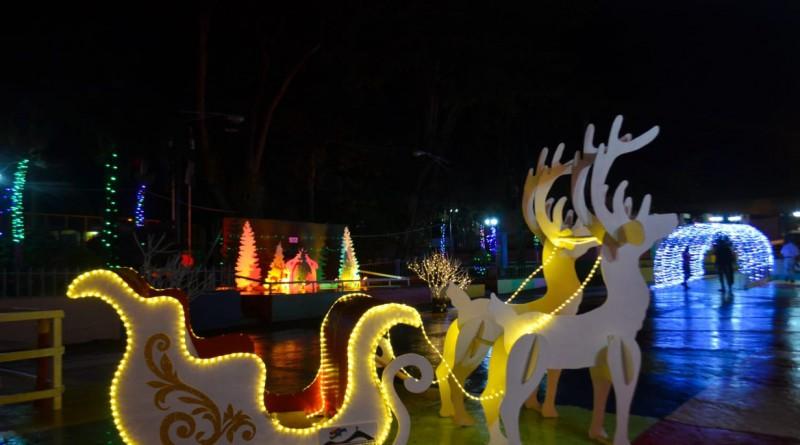 Jinotega una linda ciudad que brilla con la magia navideña
