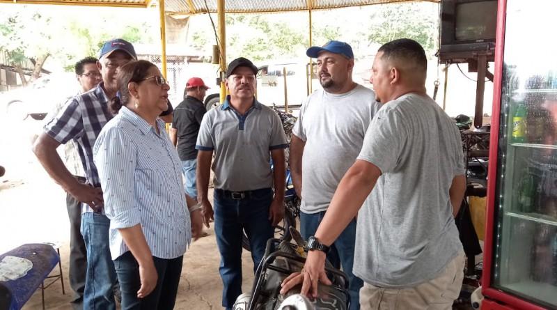 Taller de reparación de motos Meglin Herández
