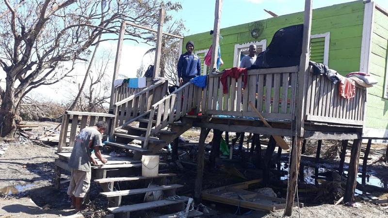 En la comunidad Wawa Bar en Puerto Cabezas